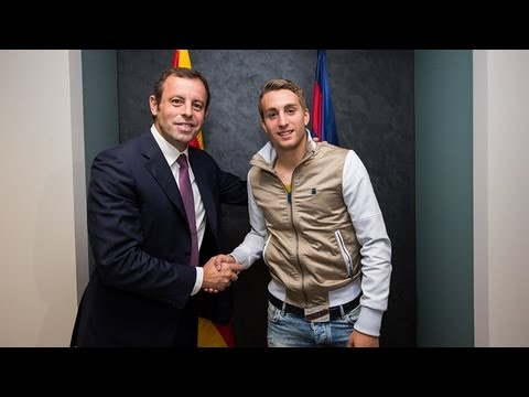 FC Barcelona - Deulofeu signs new contract; set to stay at FC Barcelona through 2017