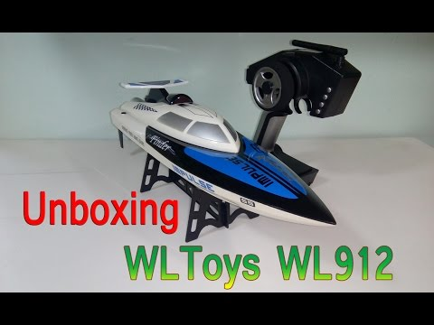 [Unboxing] WLToys WL912 New 2.4G Radio Control RC Speed Racing Boat