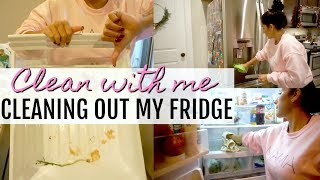 DEEP CLEAN YOUR REFRIGERATOR | HOW I ORGANIZE MY FRIDGE | CLEANING MOTIVATION