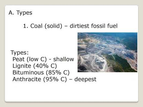 Renewable & Nonrenewable Resources narrated Part 1