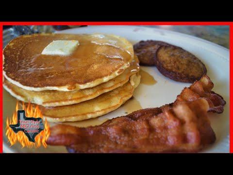 Pancake Breakfast On The Blackstone Giddle | Blackstone Griddle Breakfast Recipes