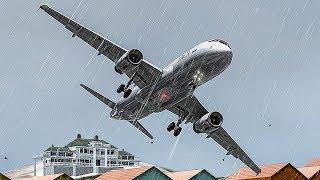 Airbus se Estrella en el Aeropuerto Más Peligroso del Mundo | Aproximación Peligrosa | TACA 390