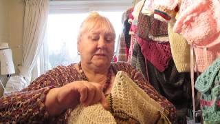 Sorting through my baby crochet items