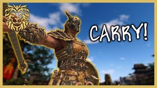 [For Honor] Carrying with Valkyrie - Season 7 Valkyrie Gameplay