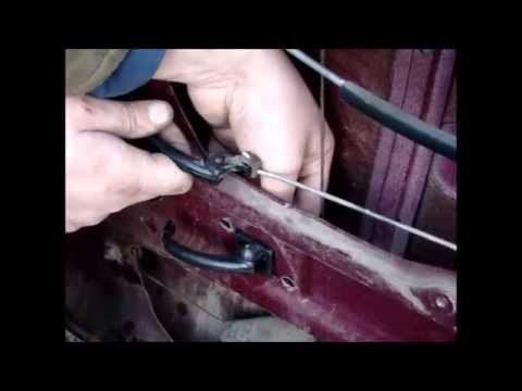 Двери без ручек, открытие с сигналки ВАЗ 2101 копейка - YouTube