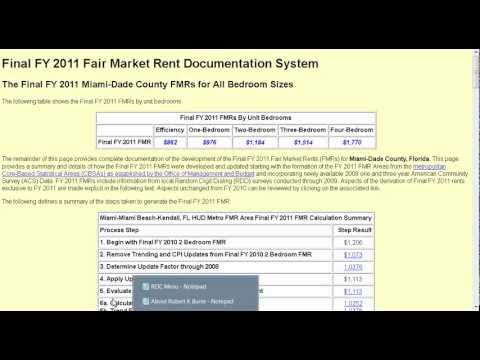 Worksheets Hud Rent Calculation Worksheet video about calculating fair market rent fmr using a hud section 8 tool