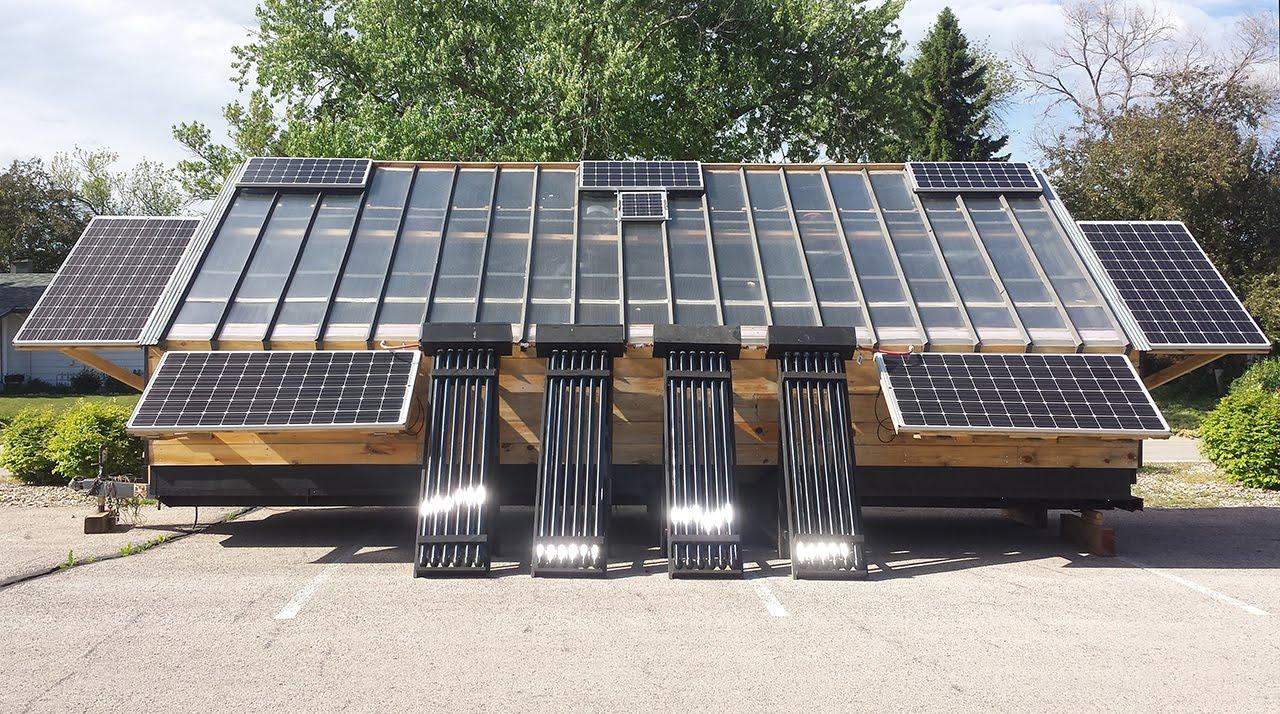 Solar wood kiln designs