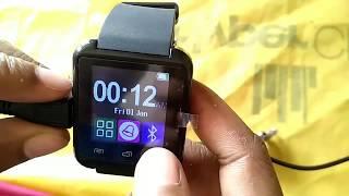 Solution : U8 smartwatch not charging fix 100% works