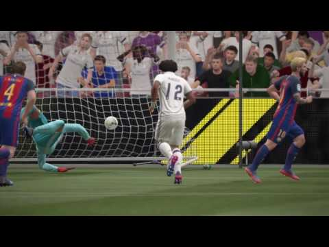 FIFA 17_FINAL EMIRATES COUPE [Barcelona vs Real Madrid] Full Match