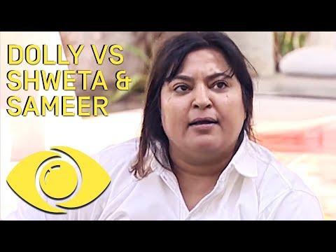 Dolly Bindra Fights Shweta And Sameer  - Bigg Boss India  Big Brother Universe