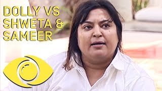 Dolly Bindra Fights Shweta And Sameer !! - Bigg...