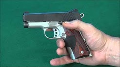 """Kimber Ultra Crimson Carry II .45 acp 3"""" Cannon !  Review weaponseducation"""
