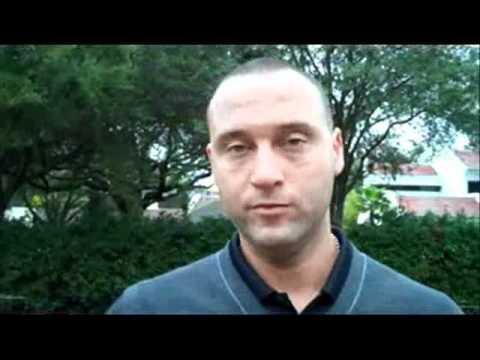 Derek Jeter Interview Turn 2 Foundation
