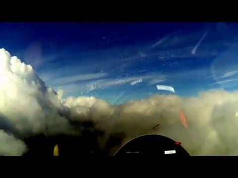 Gliding in clouds