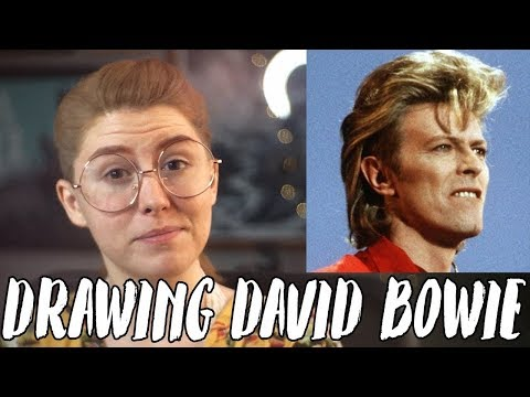 Drawing David Bowie Using Scratchboard! // Rad Art with Beth Be Rad | SNARLED