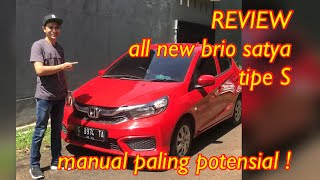 Review All New Brio Satya S