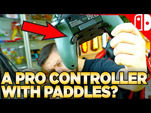 PowerA is Charging HOW MUCH For a Switch Controller with Paddles?