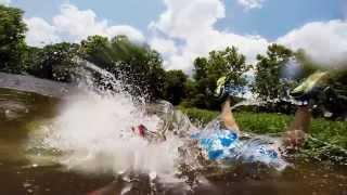 Dog kayaking the James River