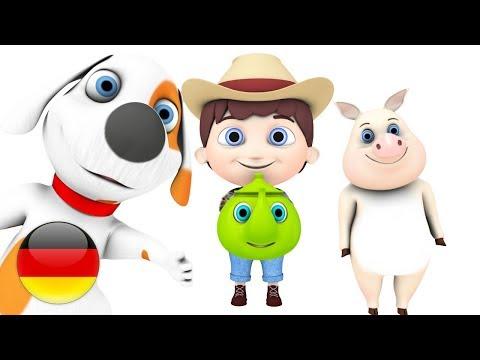 Eine Kleine Teekann   Deutsche Kinderlieder   Für Kinder   Baby-Karikaturen