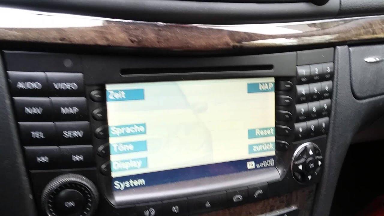 Mercedes C Klasse Uhrzeit Einstellen