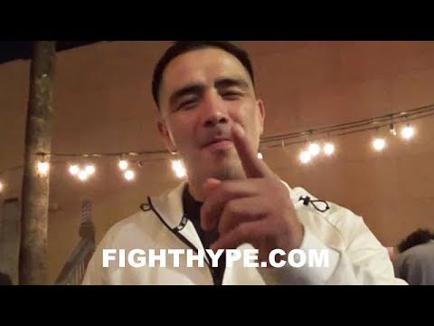 BRANDON RIOS CLAIMS DANNY GARCIA CLASH STILL IN PLAY; GIVES UPDATE ON POTENTIAL JANUARY TRIPLEHEADER