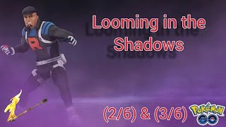 Looming in the Shadows - Pokemon Go special research part 2 & 3