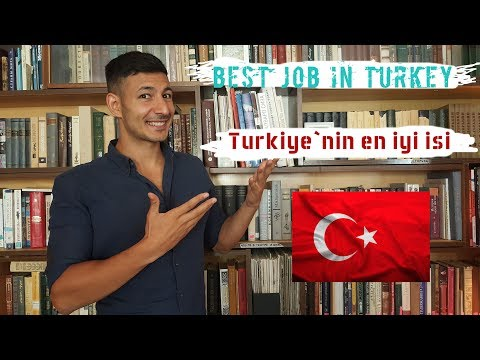 Best Job in Turkey Application Video (Türkiye'nin en iyi işi başvuru vidoesu)