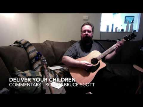 Deliver Your Children   Paul McCartney and Wings   cover and guitar lesson   Robert Bruce Scott