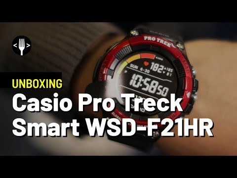 Unboxing: Casio Pro Treck Smart WSD-F21HR