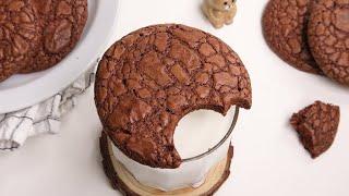 쫀득한 브라우니 쿠키 만들기 Brownie Cookie…