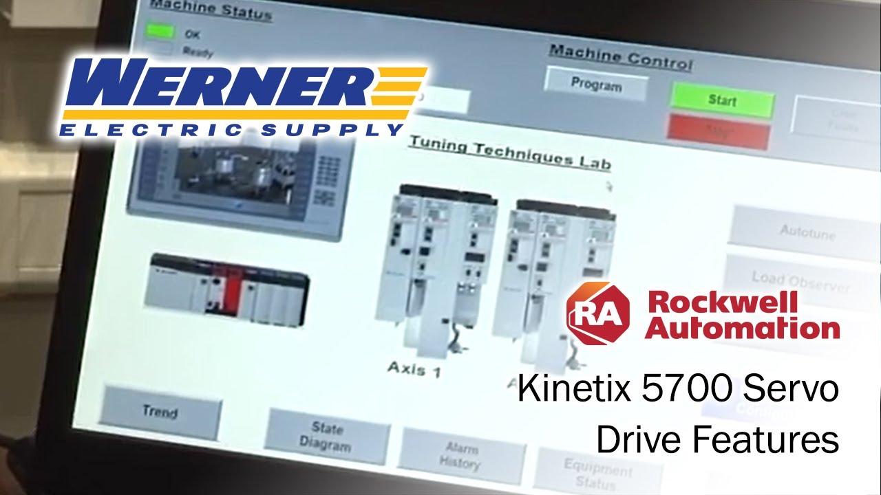 Rockwell Automation Kinetix 5700 Servo Drive Features