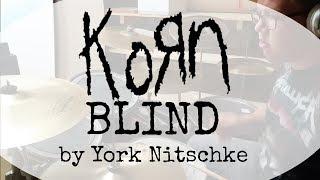 BLIND - Drumcover (KoRn) | York Nitschke