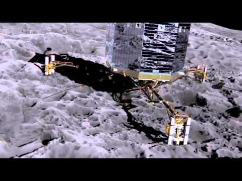 PHILAE Probe survive Temperatures of -150C.. ROSETTA'S Lander PHILAE wakes up from hibernation