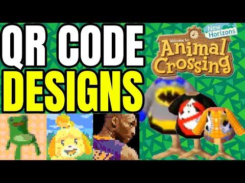 Ultimate Qr Code Designs List Animal Crossing New Horizons New