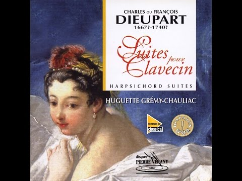 Dieupart - Suites pour Clavecin, Huguette Gremy-Chauliac