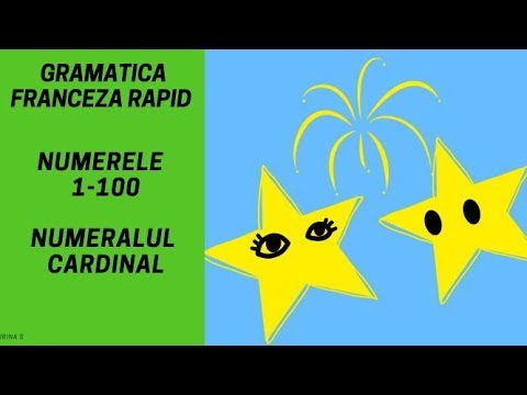 Conjugarea verbelor in franceza (Grupa 1/ indicativ imperfect) - Gramatica franceza (2018) from YouTube · Duration:  4 minutes 56 seconds