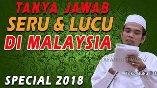 Tanya Jawab Terlucu dengan Jamah di Malaysia - Ceramah Ustad Abdul Somad, Lc , MA