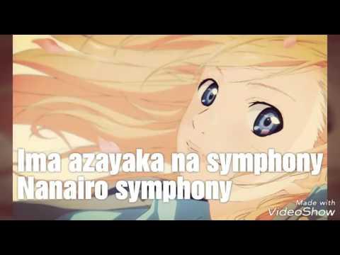 Shigatsu wa kimi no uso - Nanairo Symphony Karaoke/Instrumental op 2