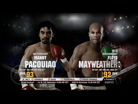 Floyd Mayweather vs Manny Pacquiao Fight Night Champion Prediction