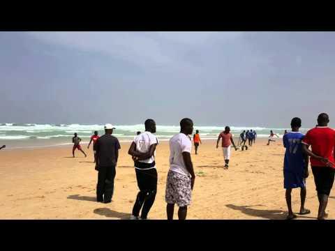 Premier jour à la plage de Yoff - Dakar