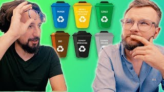 Jak segregować śmieci? [PORADY DLA MĘŻCZYZN] - Lekko Stronniczy #1027