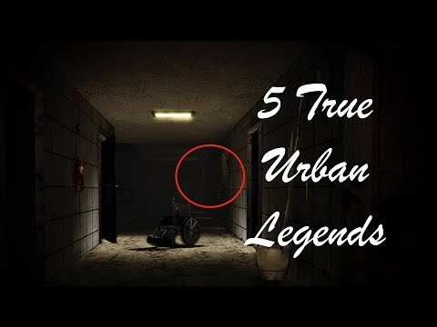 5 Creepy True Urban Legends [HD]
