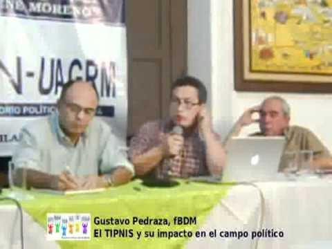 """Conversatorio """"El TIPNIS y su impacto en el campo político"""" - Gustavo Pedraza"""