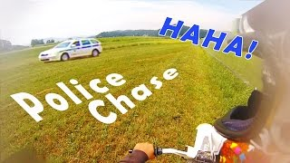 Dirtbike Police Chase - Escape On Foot