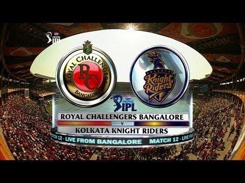 IPL 2014: Royal Challenger Bangalore vs Kolkata Knight ...