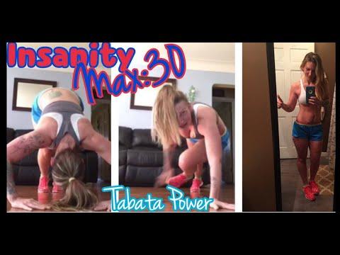 Insanity Max:30 Tabata Power ROUND 3