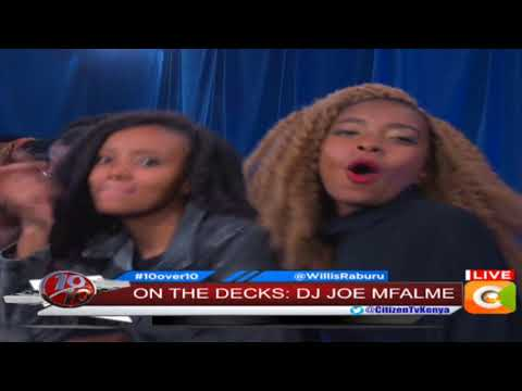 DJ Joe Mfalme mix magic #10Over10
