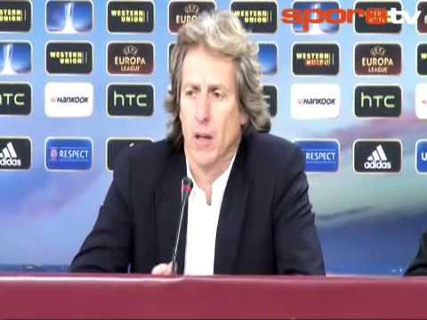 Jorge Jesus - Benfica 3 - 1 Fenerbahçe.. (Maç Sonu Yorumu) 02.05.2013