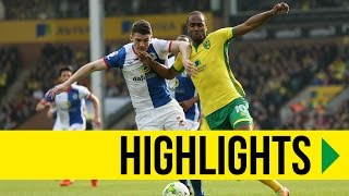 HIGHLIGHTS: Norwich City 2-2 Blackburn Rovers