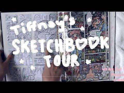 SKETCHBOOK TOUR | Lowkey Roasting My Own Art